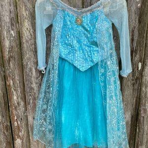 Frozen Elsa gown